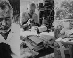 Այսօր ամերիկացի հանրահայտ գրող և լրագրող, Նոբելյան մրցանակակիր Էռնեստ Հեմինգուեյի հիշատակի օրն է։