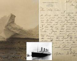 «Տիտանիկ» նավի խորտակումից գրեթե 108 տարի անց աճուրդի է հանվել նավը խորտակած այսբերգի լուսանկարը։
