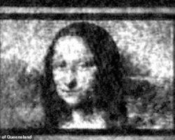 Գիտնականները քվանտային կտավի վրա վերարտադրել են Մոնա Լիզայի միկրոսկոպիկ պատկերը