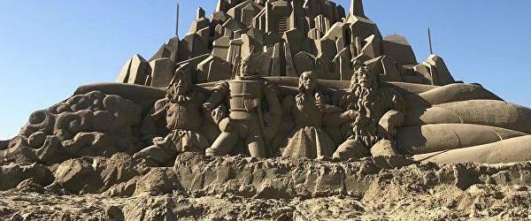 Հարավային Կորեայում մեկնարկել է <<Ավազե քանդակների>> ավանդական փառատոնը
