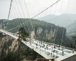 Բացվել է ամենաբարձր ապակե կամուրջը