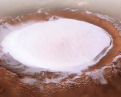 Մարսի վրա 1,8 կմ խորությամբ սառցե խառնարան է հայտնաբերվել