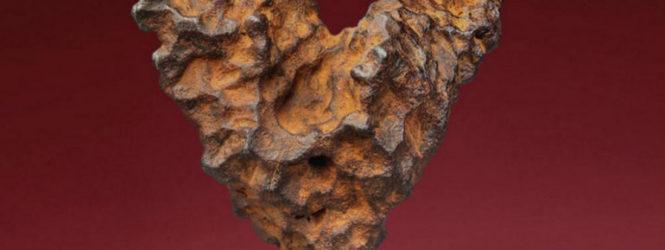 Մեծ Բրիտանիայում աճուրդի կհանվի 4,5 մլրդ տարի առաջ ձևավորված սրտաձև երկնաքարը