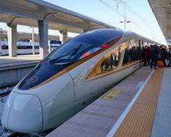 Չինաստանում գործարկվել է աշխարհում ամենաարագընթաց ինքնակառավարվող գնացքը