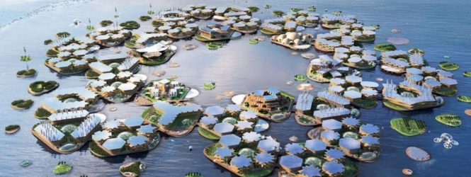 Ամերիկացի ճարտարապետների կողմից  ներկայացվել է լողացող քաղաքի նախագիծ