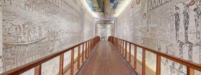 Անվճար առցանց ճանապարհորդություն՝ Եգիպտոսի դամբարաննեով և տեսարժան վայրերով