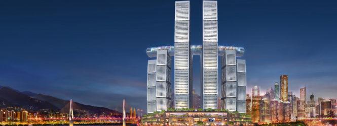 Չինաստանում ինքնատիպ «հորիզոնական երկնաքեր» են կառուցում