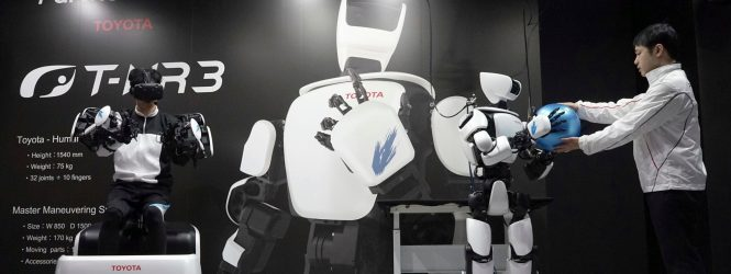 Toyota-ն ցուցադրել է կատարելագործված մարդանման ռոբոտի փորձարկումը