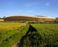 Անգլիայում կկառուցվի աշխարհում առաջին փայտյա մարզադաշտը