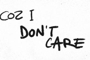 Ed Sheeran & Justin Bieber — I Don't Care [Official Lyric Video]