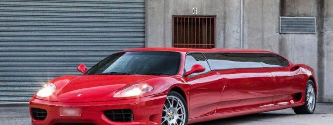 Ավստրալացին շքեղ Ferrari-ն վերածել է լիմուզինի: