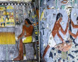 Եգիպտոսում հազվագյուտ պատկերներով դամբարան է գտնվել