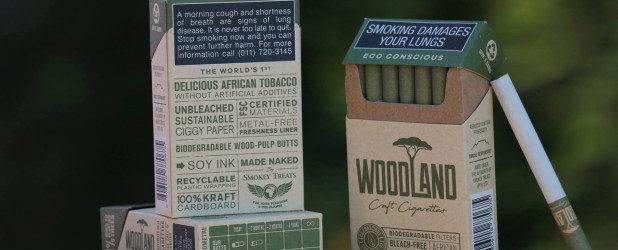 Հարավաֆրիկյան Smokey Treats ընկերությունը ստեղծել  է աշխարհում առաջին էկո ծխախոտը