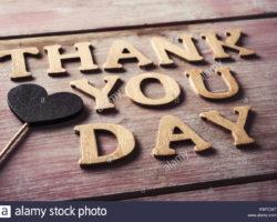 Շնորհակալության միջազգային օրն է